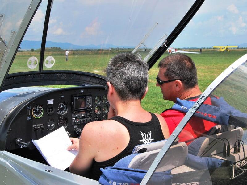 Idee de cadou Lectie de zbor cu avionul