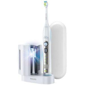 Periuta de dinti electrica Philips Sonicare FlexCare HX6971/33, 31000 miscari de curatare/minut, 3 moduri, 1 capat, sterilizator UV, Alb
