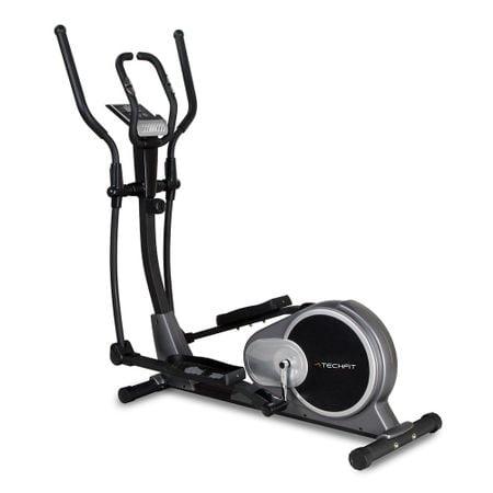 Bicicleta Eliptica Fitness Magnetica Techfit E500 cu Suport Tableta / Smartphone, Volanta 9 kg, Greutate utilizator: 130kg