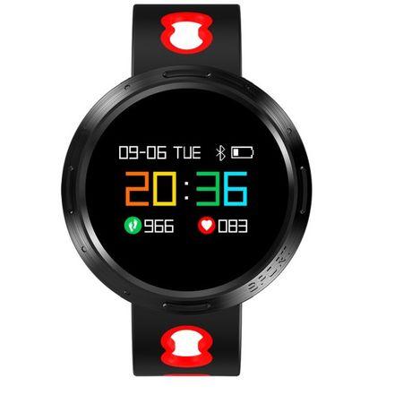 Bratara Inteligenta Fitness, Ecran Tactil OLED,Rezistenta la apa IP67, Notificari Social Media, Monitorizare Puls, Ceas, Caller ID, Vibratii, Puls, Pedometru, Alarma,RED Color