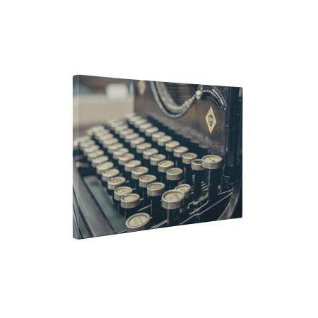 Masina de scris - Tablou Canvas - 95x125 cm