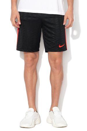 Nike, Bermude pentru fotbal Dry Fit, Negru/Rosu, M