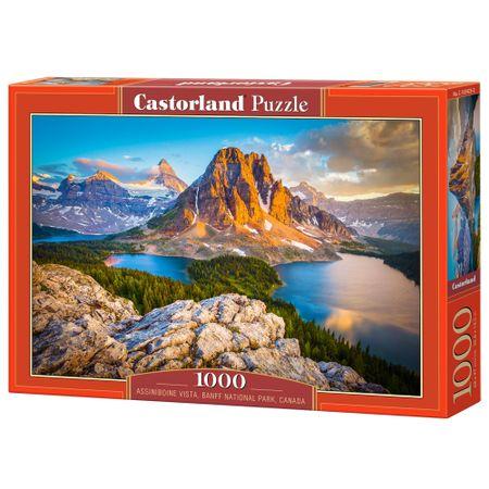 Puzzle Castorland Assiniboine Vista, Banff National Park, Canada, 1000 piese