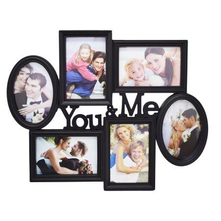 """Rama Foto Colaj """"You&Me"""" 6 poze"""