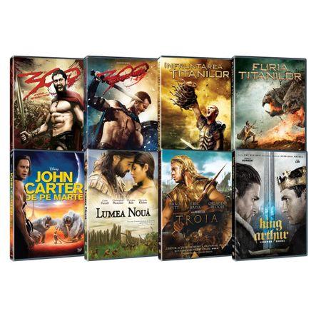 Set filme Epice/legendare/mitologice [8 DVD]