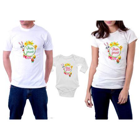 Set tricouri Paste ,bumbac ,DKP studio ,marimi M,M si 74 cm