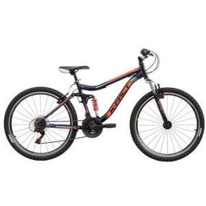 Bicicleta mountainbike X-Fact Pulse, roata 26, portocaliu, marime cadru 19