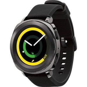 Ceas smartwatch Samsung Gear Sport, Black