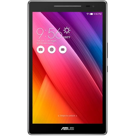 "Tableta ASUS ZenPad 8.0 Z380KNL, 8.0"", Quad-Core 1.2GHz, 2GB RAM, 16 GB, 4G, IPS, Dark Gray"