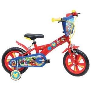 "Bicicleta copii Mondo cu roti ajutatoare 12""- Mickey Mouse"