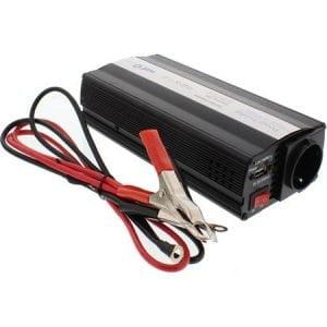 Invertor de tensiune Well 600W 12V USB