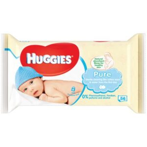 Servetele umede Huggies Pure