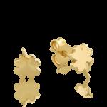 Cercei din aur galben de 14K 1