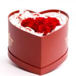 Inima dulce Raffaello si trandafiri criogenati 1