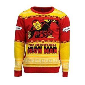Pulover de Craciun Iron Man