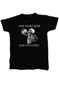Tricou Rock One Beer Pentru Barbati