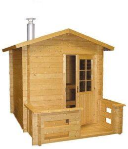 Sauna exterior Harvia Kuikka