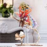 Puzzle 3D Fluture mecanic Ugears