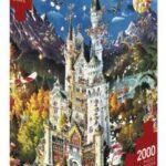 Puzzle 2000 piese Bavaria