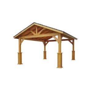 Pavilion gradina din lemn