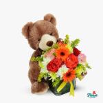 ursulet cu flori